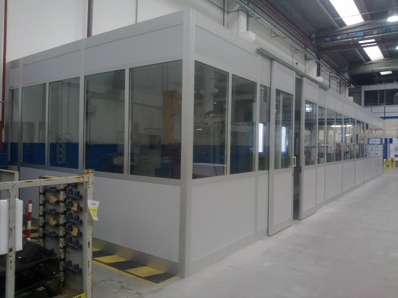 Box Aziendali in Alluminio